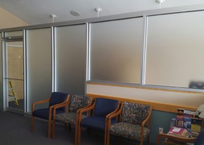Frosted Office Dividers
