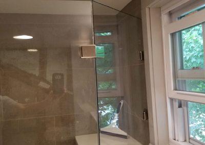 Angled Glass Wall
