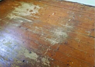 Able Refinished Floors before1