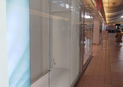 commercial glass project