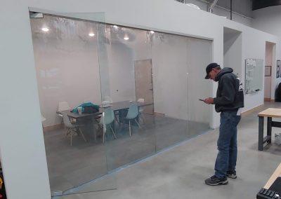 Custom commercial glass
