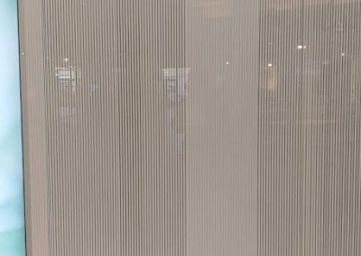 Office glass wall install