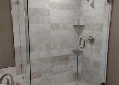 New Glass Shower Doors for Tile Shower