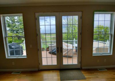 New Door Installation - Inside View