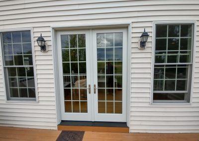Completed Double Door Installation